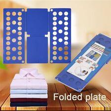 Magic Flip Fold Folding Board Kids Clothes Folder Shirt Pant Laundry Organizer B