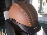 CASCO Reithelm Mistrall 2 II neustes Modell Braun Helm Reitkappe NEU Crownclub