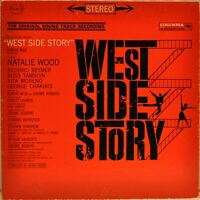 West Side Story (Original Soundtrack Recording) Bernstein [Columbia OS 2070] LP