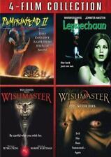 PUMPKINHEAD 2*LEPRECHAUN*WISHMASTER 1,2 [One,Two] Cult Horror R1 DVD Set *NEW*