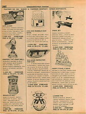 1961 ADVERT Tarrson Toy Skin Diver Game Big Game Repeater Pop Gun Gum Ball Mach