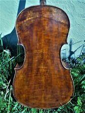 """Schönes 4/4 Cello erb. n. """"A. TORELLI BRESCIA 1825"""" m. Tasche & Bogen"""