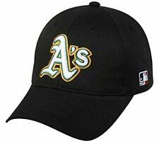 Oakland Athletics MLB OC Sports Hat Cap Black / White A's Adult Men's Adjustable