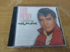 ELVIS PRESLEY IT'S CHRISTMAS TIME HOLIDAY THEMED COMPILATION MUSIC CD ALBUM DISC