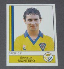 88 ENRIQUE MONTERO CADIZ CF PANINI LIGA FUTBOL 87 ESPAÑA 1986-1987 FOOTBALL