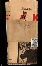 OLD TURKEY OTTOMAN 1929 NEWSPAPER KARAGOZ #2211 POST TO EGYPT W/ STAMPS WRAPPER