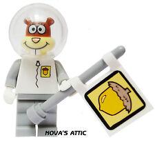 LEGO SPONGEBOB SQUAREPANTS SANDY CHEEKS ASTRONAUT MINIFIGURE NEW