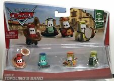 CARS 2 - ZIO (UNCLE) TOPOLINO BAND - Mattel Disney Pixar