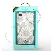 Kate Spade Flexible iPhone 8 Plus & iPhone 7 Plus Case - Hollyhock Floral Clear