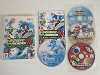 New Super Mario Bros Sonic Riders Winter Olympics London 2012 -- Nintendo Wii --