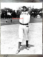 1940's Negro League Kansas City Monarchs Satchel Paige 8 X 10 Photo Picture