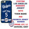 LA DODGERS CUSTOM PHONE CASE COVER WITH YOUR NAME &No. FOR iPHONE SAMSUNG LG etc