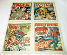 Eagle And Scream/Tiger  #135-#205 4 Issue Lot 1985 IPC Mag. London Newsprint