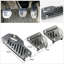 Car Foot Pedals Pad Covers Manual Transmission M/T For Brake Clutch Accelerator