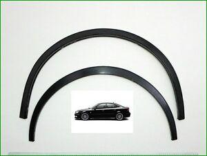 Wheel Arch Trims for Wing/Quater  SAAB 9-3  2002-2011 set 4 pcs. Black Matt.