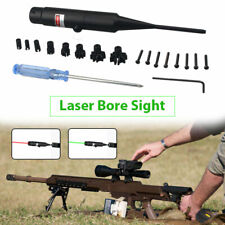 Green/Red Laser Bore Sight Kit Boresighter for .177 to .50 Caliber Riflescope