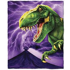 T-Rex Fleece Throw Blanket