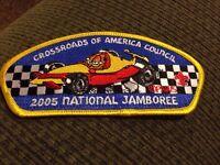 MINT 2005 JSP Crossroads Of America Council Garfield Yellow Border