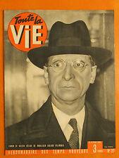 Toute la Vie N° 27 du 12/02/1942-Eamon de Valera a mobilisé 500.000 Irlandais