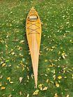 Custom kayak. Never used.White cedar and mohagany. Georgian Bay hull. 16', 38 lb