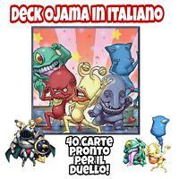 Yu-Gi-Oh! Deck Mazzo Completo OJAMA - ITALIANO 40 Carte + Extra Deck #MYDECK