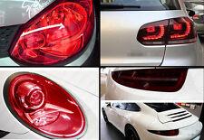 "16"" x 48"" NEW Gloss Red Headlight Taillight Fog Light Tint Film Vinyl Wrap Car"