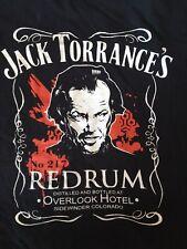 The Shining TeeFury Jack Nicholson Daniels Kubrick RedRum Overlook Tee Shirt XL