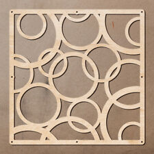 Wooden Room Dividers Interior Partition Decor Screens (Set of 12 Plywood Panels)