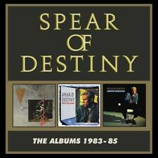 SPEAR OF DESTINY  The Albums 1983-85 BOX 3 CD NEW .cp