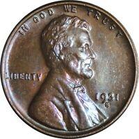 1931-S  1C Lincoln Wheat Cent   UNC/BU  Condition  Pretty Toning (050221329)