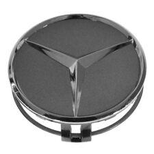OEM 22040001257756 Wheel Cap Gray & Chrome Center for Mercedes Benz