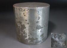 Kaikado small Tea caddy canister chazutsu Tin green tea vintage Japan Kyoto #2