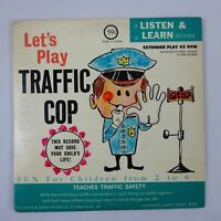 Let's Play Traffic Cop 45 rpm 1964 Listen & Learn Records
