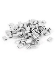 1000 1/16 Aluminum Double Ferrules Sleeves Traps Snare Parts~1000 Pack