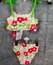 NWT Toddler Swimsuit 12 mo 2 Pc Floral Kids R Us Toys R Us Pique Free Fast Ship