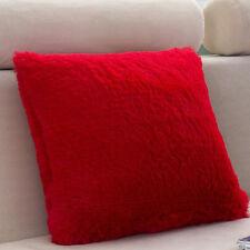 Soft Plush Square Throw Sofa Waist Pillow Cases Home Decor Pillow Cushion Covers