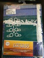 Store Tente de Soleil 150x300 CM Avec Crochets Plastique 100% Coton Masquage
