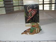 HALLMARK Keepsake Ornament Fishing Party Showcase Folk Art Amaracana Collection