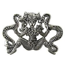 New Dryad Designs Silver Ormhaxan Pendant by Paul Borda Snake Witch Smiss Stone