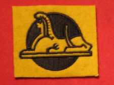 BRITISH ARMY WW2 56TH INFANTRY BRIGADE FORMATION BADGE SPHINX LF EMBROIDERED