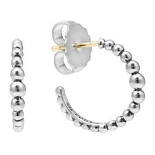 324e5510d LAGOS Caviar™ Hoop Earrings in Sterling Silver
