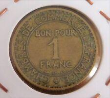 1 franc 1927 good quality