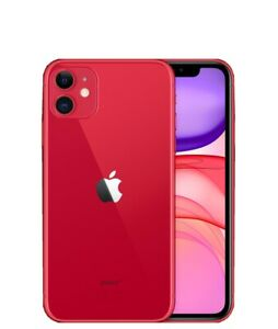 APPLE iPhone 11 - 64 GB Mobile Smart Phone Red - BRAND NEW - 12 MONTHS WARRANTY