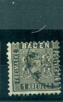 Baden, Wappen Nr. 13 gestempelt
