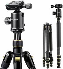 K&F Concept Carbon Fiber Camera Tripod Monopod Ball Head for Travel Camera Canon