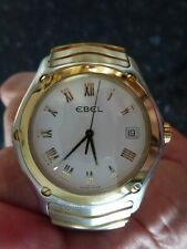 EBEL Classic Gents Timepiece 18k Gold and Stainless Steel