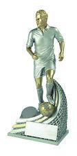 Top Pokal ! Fussball Ständer Augustinus 15 - 25 cm, Fußballfigur inkl. Gravur