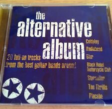 NEW - THE ALTERNATIVE ALBUM - Indie Brit Pop Music CD - Blur Coldplay Radiohead