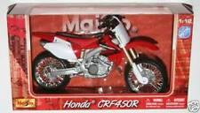MAISTO 1:12 Honda CRF450 R Toy Model Motocross motorbike dirt bike MXGP