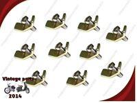"""10 SET - 7"""" LUCAS HEADLAMP RIM FIXING CLIP & SCREW #99-0690 RESELLERS DEAL"""